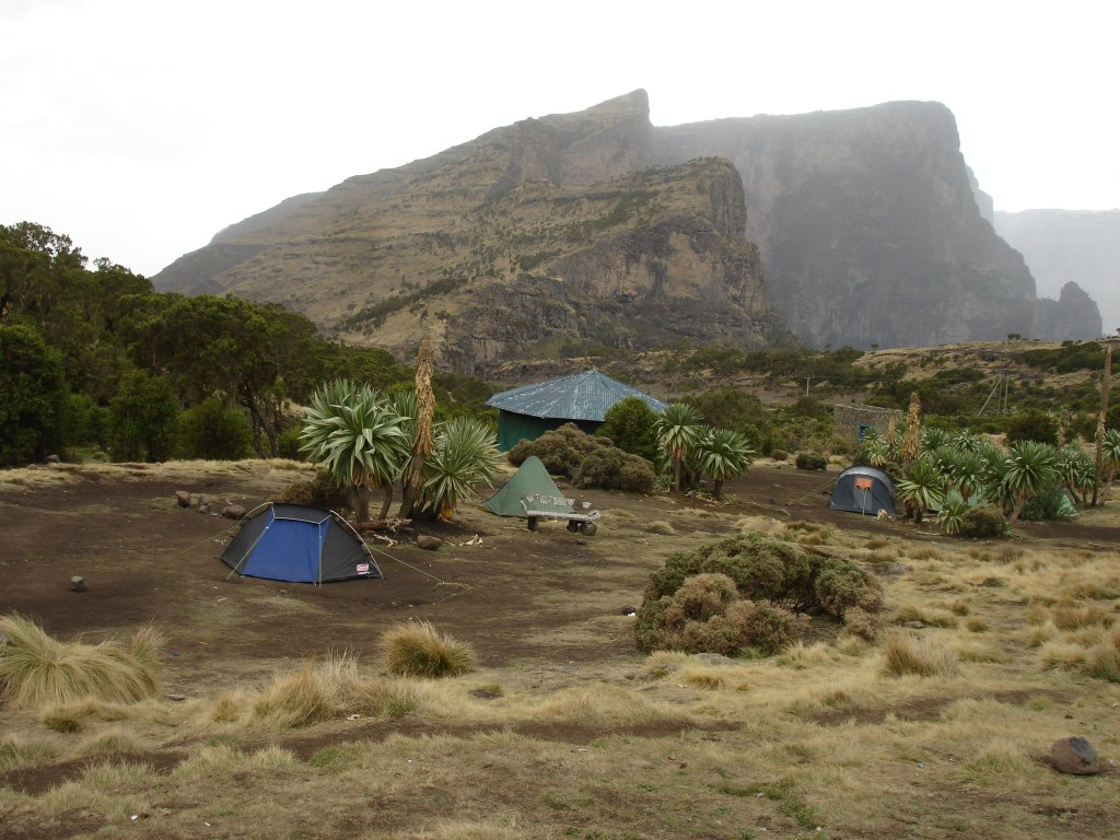 Fieldwork in Simien mountains, Ethiopia, April 2015